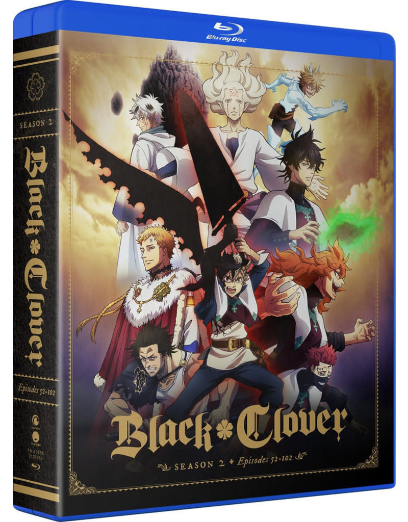 Funimation Entertainment Black Clover Season 2 Complete Collection Blu-ray