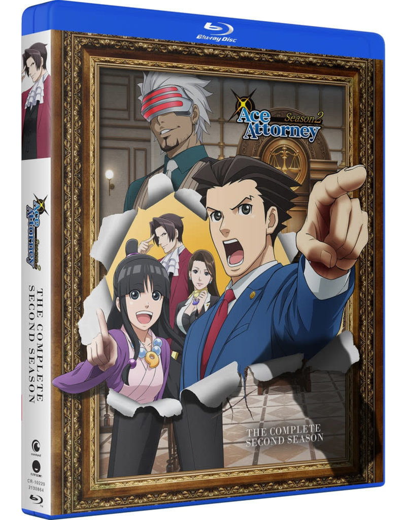 Funimation Entertainment Ace Attorney Season 2 Blu-ray