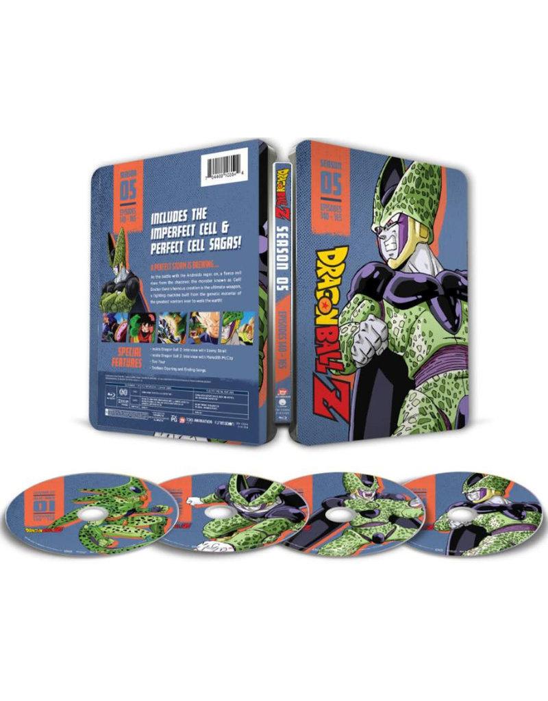 Funimation Entertainment Dragon Ball Z Season 5 Steelbook Blu-ray
