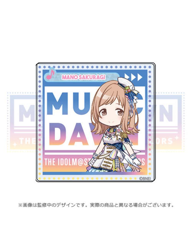 Bandai Namco Idolm@ster Shiny Colors Music Dawn Illumination Stars Acrylic Badge