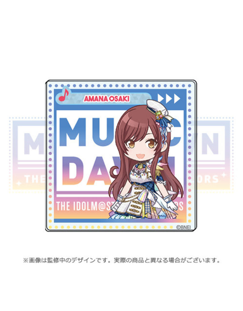 Bandai Namco Idolm@ster Shiny Colors Music Dawn Alstroemeria Acrylic Badge