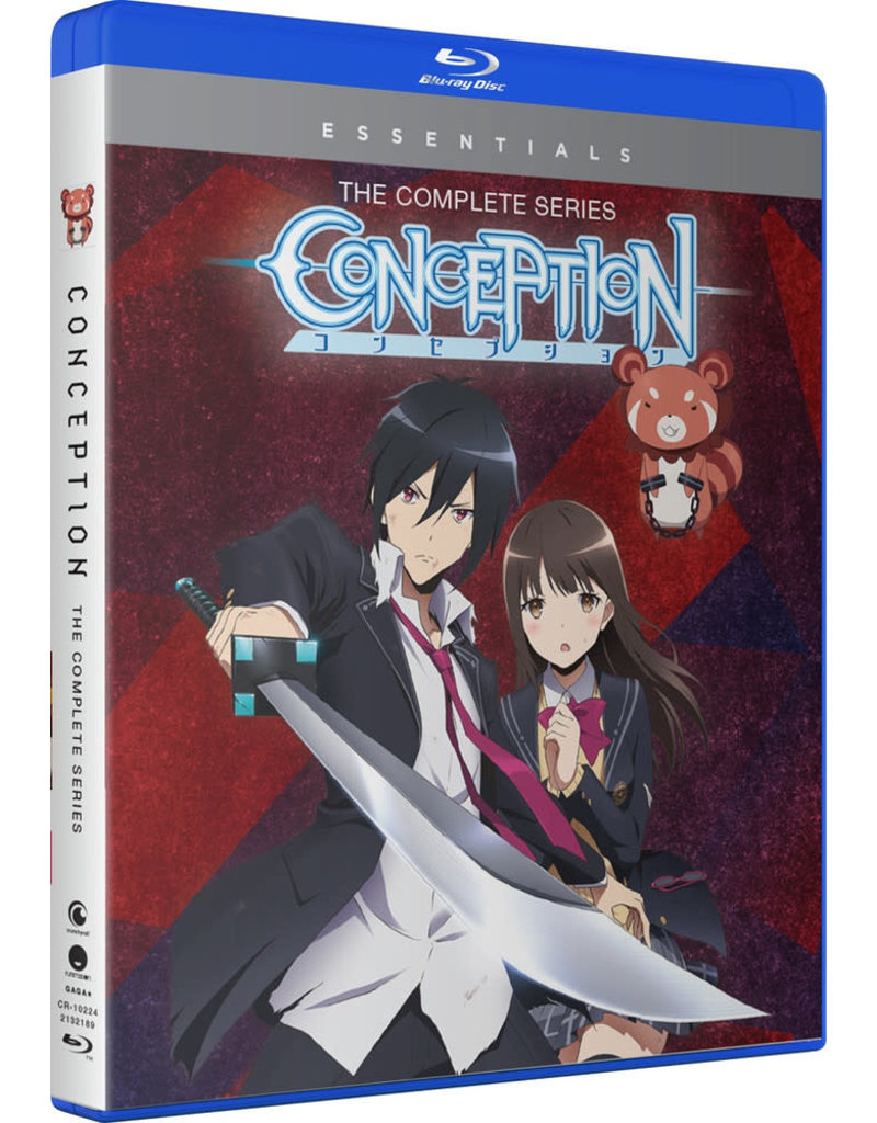 Funimation Entertainment Conception Essentials Blu-ray