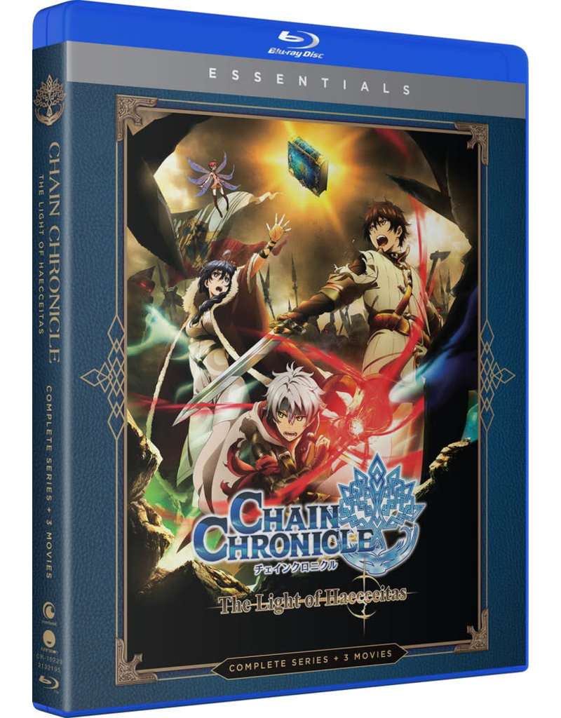 Funimation Entertainment Chain Chronicle The Light of Haecceitas Essentials Blu-ray