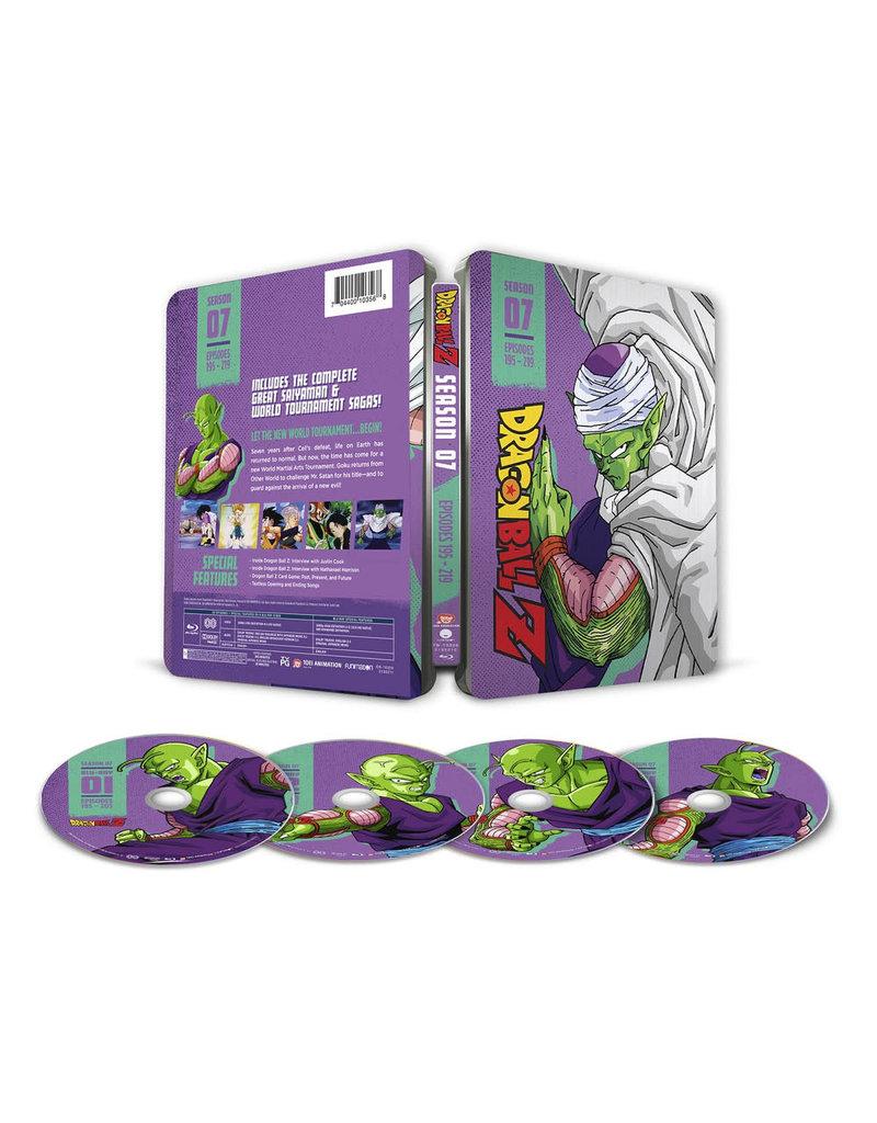 Funimation Entertainment Dragon Ball Z Season 7 Steelbook Blu-ray