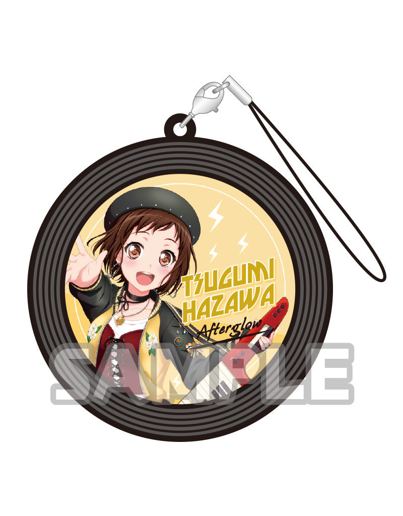 Bushiroad BanG Dream! Record Style Capsule Strap Keyboard/DJ Vers.