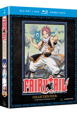 Funimation Entertainment Fairy Tail Collection 4 Blu-Ray/DVD