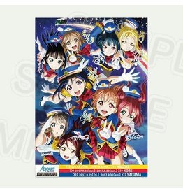 Premium Store Aqours! 2nd Love Live! HPT B2 Poster