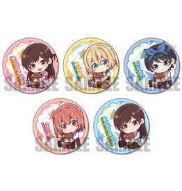 Rent-A-Girlfriend Gyugyutto Can Badge