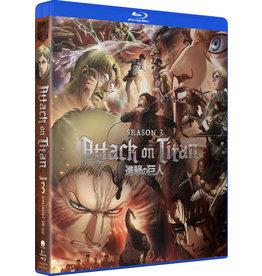 Funimation Entertainment Attack On Titan Season 3 Blu-ray