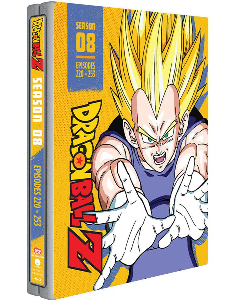Funimation Entertainment Dragon Ball Z Season 8 Steelbook Blu-ray