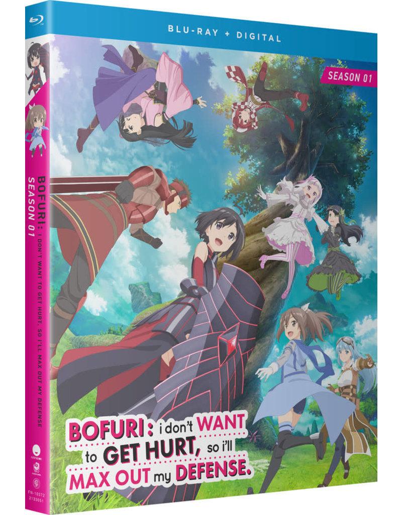 Funimation Entertainment BOFURI I Don't Want to Get Hurt So I'll Max Out My Defense Season 1 Blu-ray