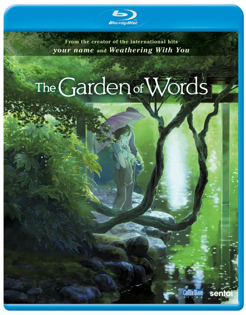 Sentai Filmworks Garden of Words, The Blu-Ray
