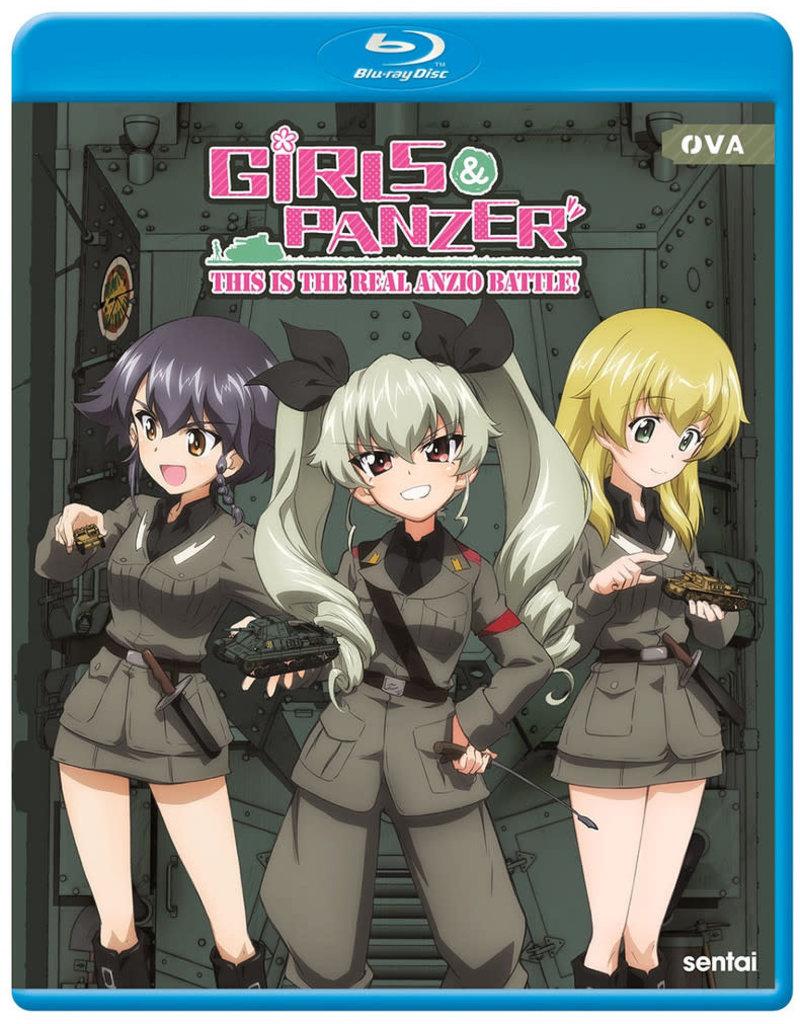 Sentai Filmworks Girls und Panzer This Is The Real Anzio Battle! Blu-ray