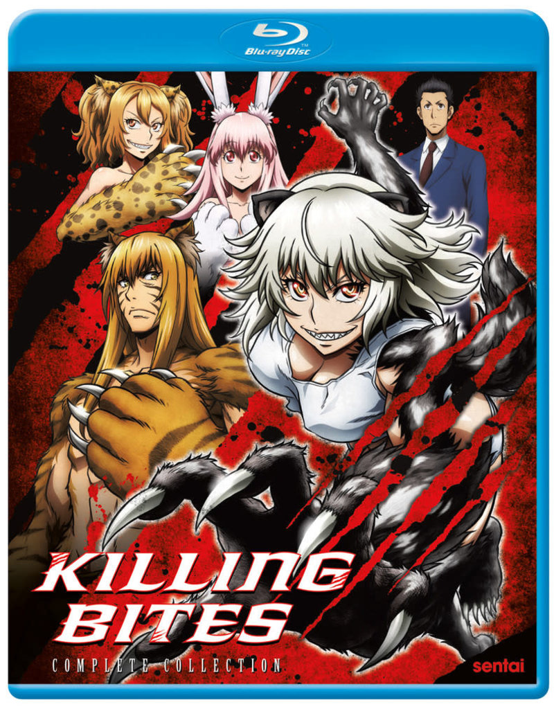 Sentai Filmworks Killing Bites Blu-ray