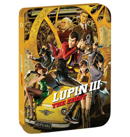 GKids/New Video Group/Eleven Arts Lupin the 3rd The First Steelbook Blu-ray/DVD