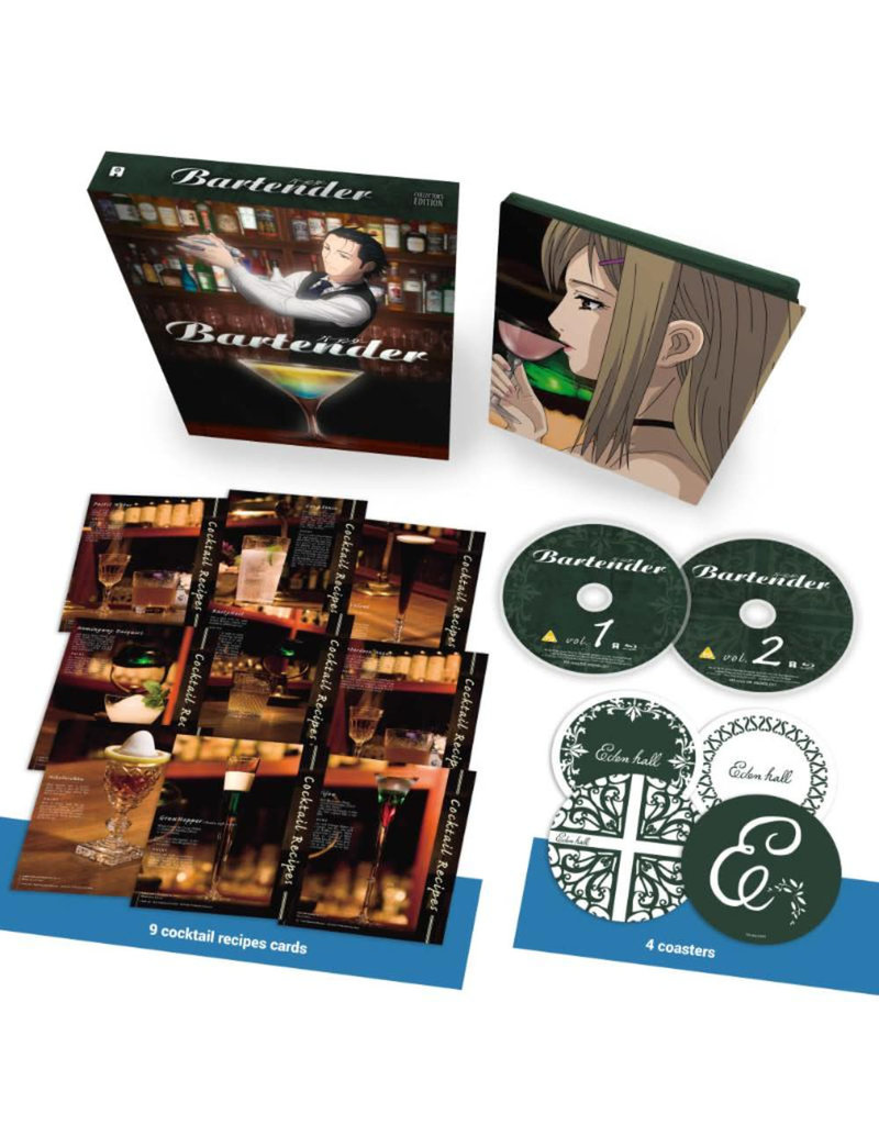 GKids/New Video Group/Eleven Arts Bartender 15th Anniversary Collector's Edition Blu-ray
