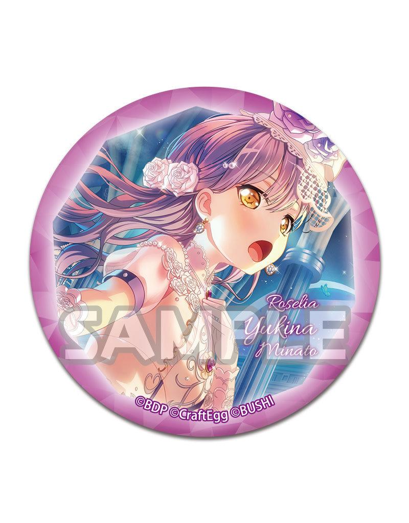Bushiroad BanG Dream! Luminous Capsule Can Badge Roselia
