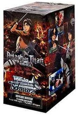 Bushiroad Attack on Titan (Full Booster Box) Weiss Schwarz