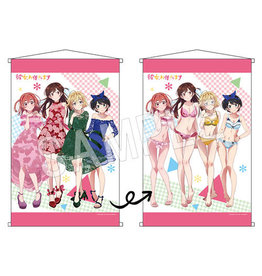Chugai Contents Rent a Girlfriend Reversible A1 Wallscroll