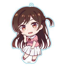 Azumaker Chizuru Mizuhara Rent a Girlfriend Deka Keychain Azumaker