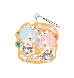 Bushiroad Re:Zero Rem and Ram Cuisine Vers Rubber Strap RICH