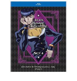 Viz Media Jojo's Bizarre Adventure Set 4 Blu-Ray
