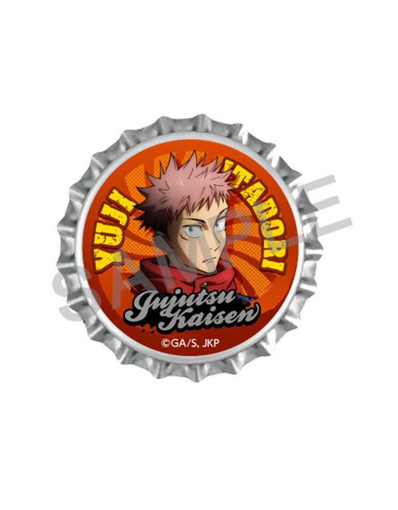 Kadokawa Jujutsu Kaisen Crown Cork Clip Badge