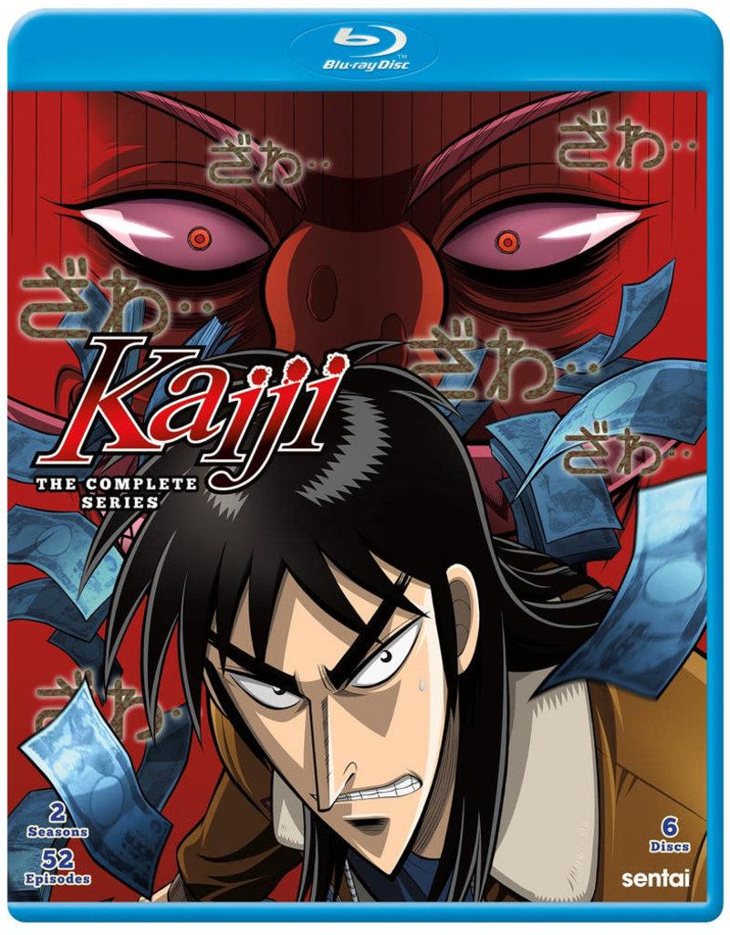 Sentai Filmworks Kaiji Blu-ray