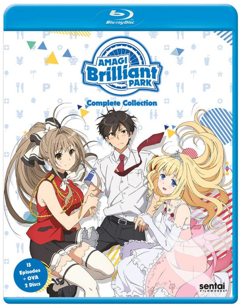 Sentai Filmworks Amagi Brilliant Park Blu-Ray