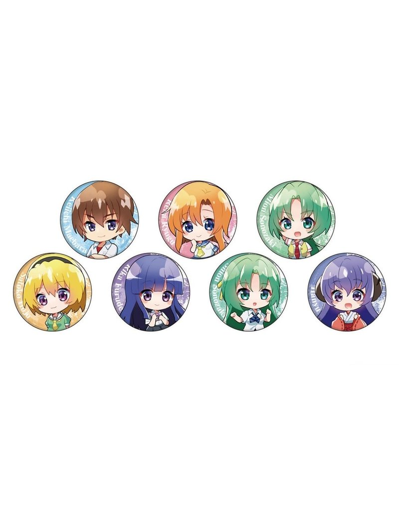 Higurashi When They Cry Mini Chara Can Badge A3
