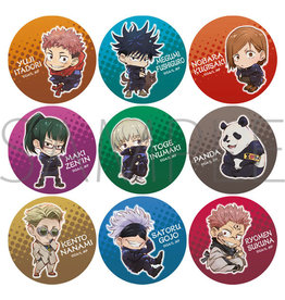 Movic Jujutsu Kaisen Character Can Badge