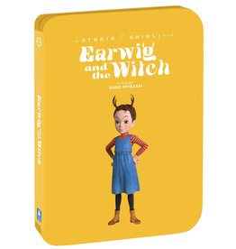 GKids/New Video Group/Eleven Arts Earwig and the Witch Blu-Ray/DVD Steelbook