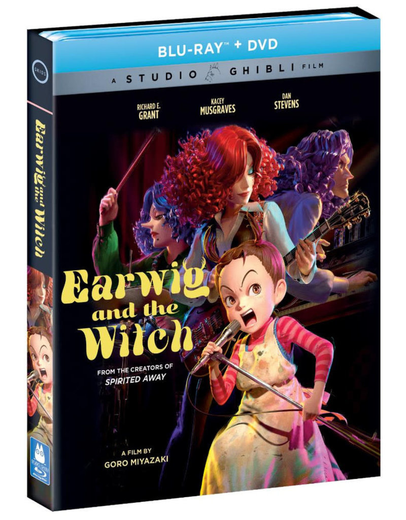 GKids/New Video Group/Eleven Arts Earwig and the Witch Blu-Ray/DVD