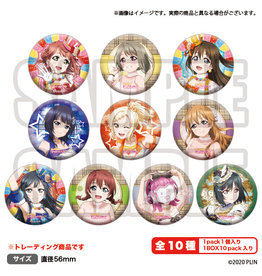 Bushiroad Love Live! Nijigasaki HS Air Comiket 2 Vers. Can Badge