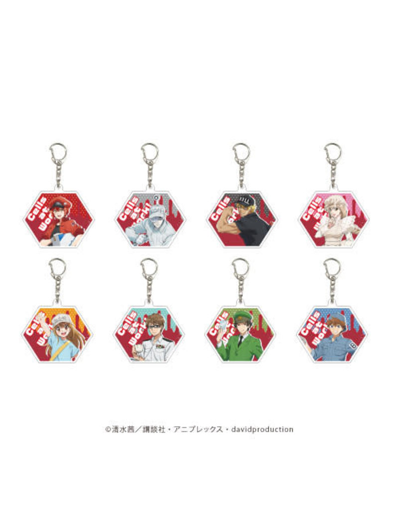 Cells at Work Acrylic Keychain 02