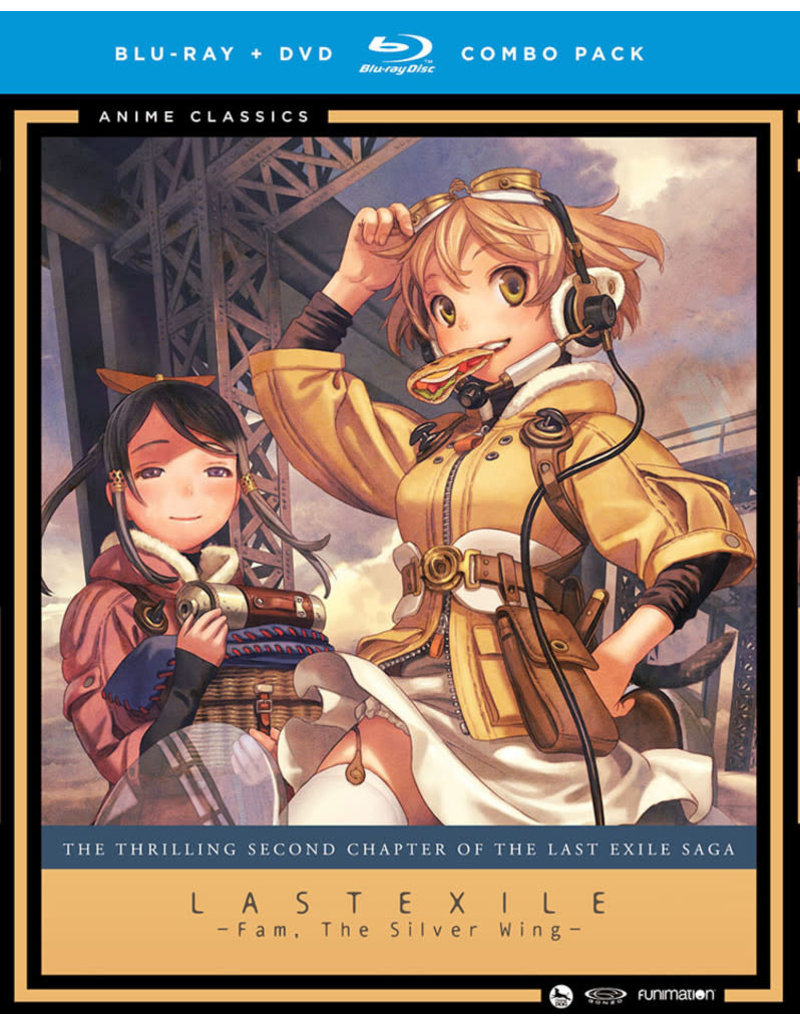 Funimation Entertainment Last Exile Fam The Silver Wing (Anime Classics) Blu-Ray/DVD*
