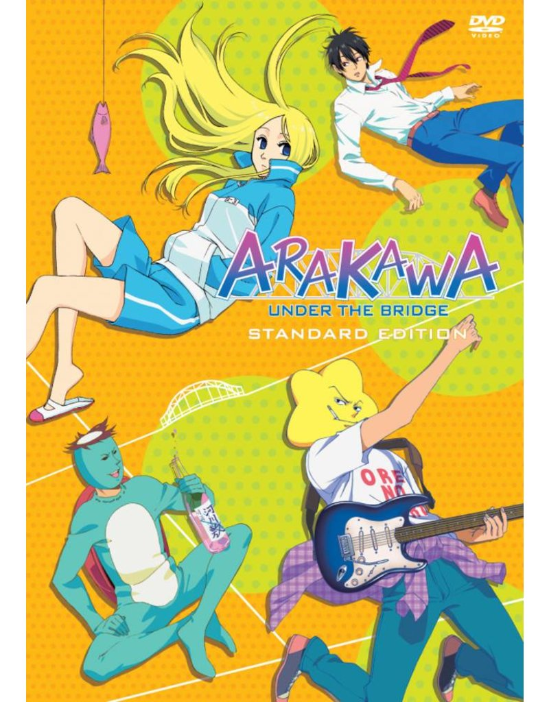 NIS America Arakawa Under the Bridge S1 DVD Standard Edition