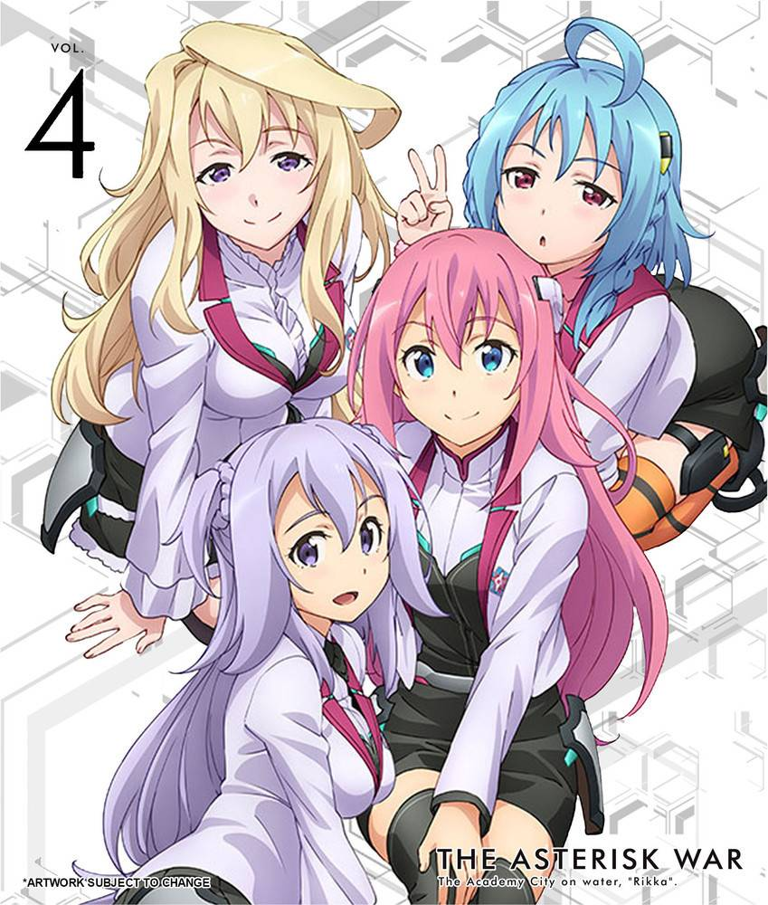 Aniplex of America Inc Asterisk War, The Vol. 4 Blu-Ray LE