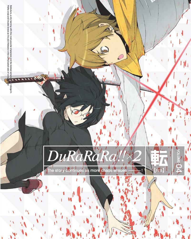 Aniplex of America Inc Durarara X2 Vol. 4 Blu-Ray