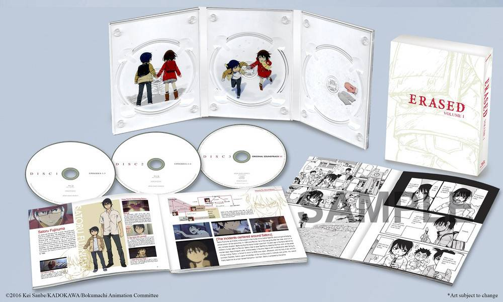 Aniplex of America Inc Erased Vol. 1 Blu-Ray