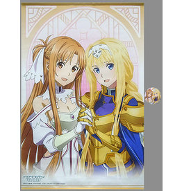 Kadokawa Asuna and Alice Sword Art Online Alicization Arc B2 Wallscroll