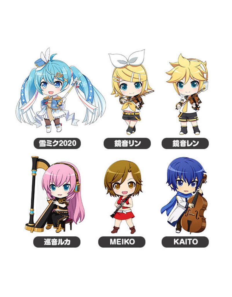 Good Smile Company Hatsune Miku Nendoroid Plus Collectible Keychains Band Together 01