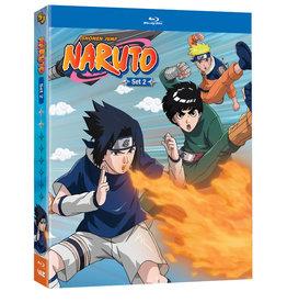 Viz Media Naruto Set 2 Blu-Ray