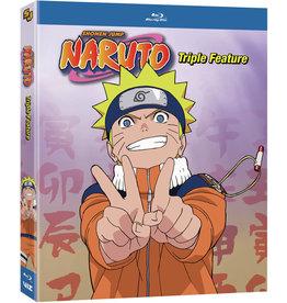 Viz Media Naruto Triple Feature Blu-ray