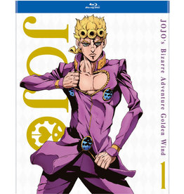 Viz Media JoJos Bizarre Adventure Golden Wind Set 1 Blu-ray