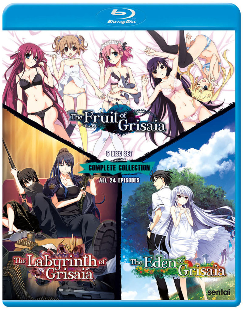 Sentai Filmworks Grisaia Complete Collection Blu-ray