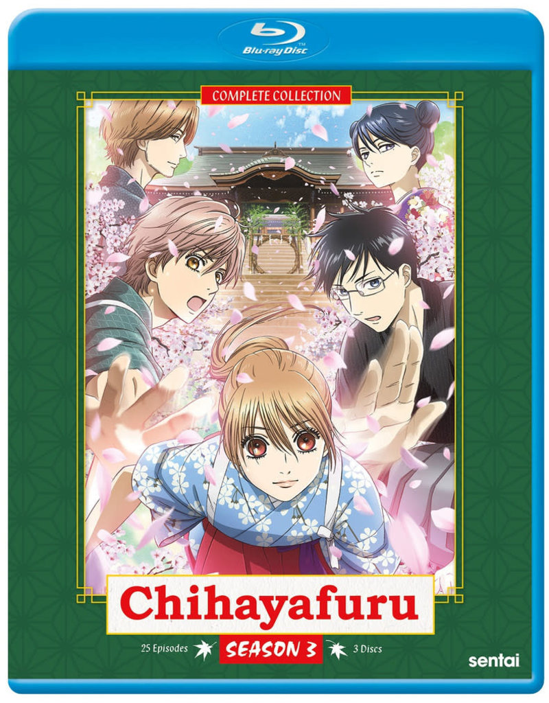 Sentai Filmworks Chihayafuru Season 3 Blu-ray