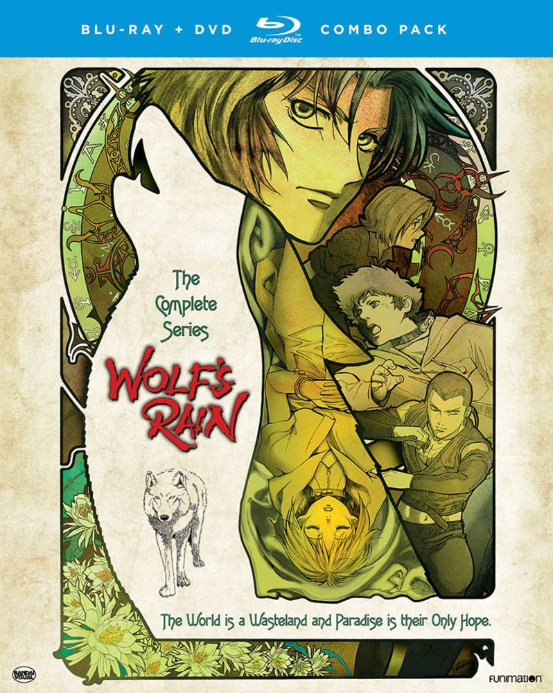 Funimation Entertainment Wolf's Rain Complete Series Blu-Ray/DVD