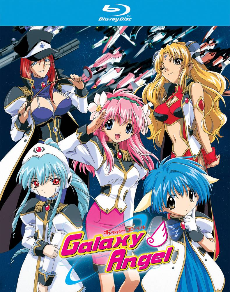 Nozomi Ent/Lucky Penny Galaxy Angel Blu-Ray
