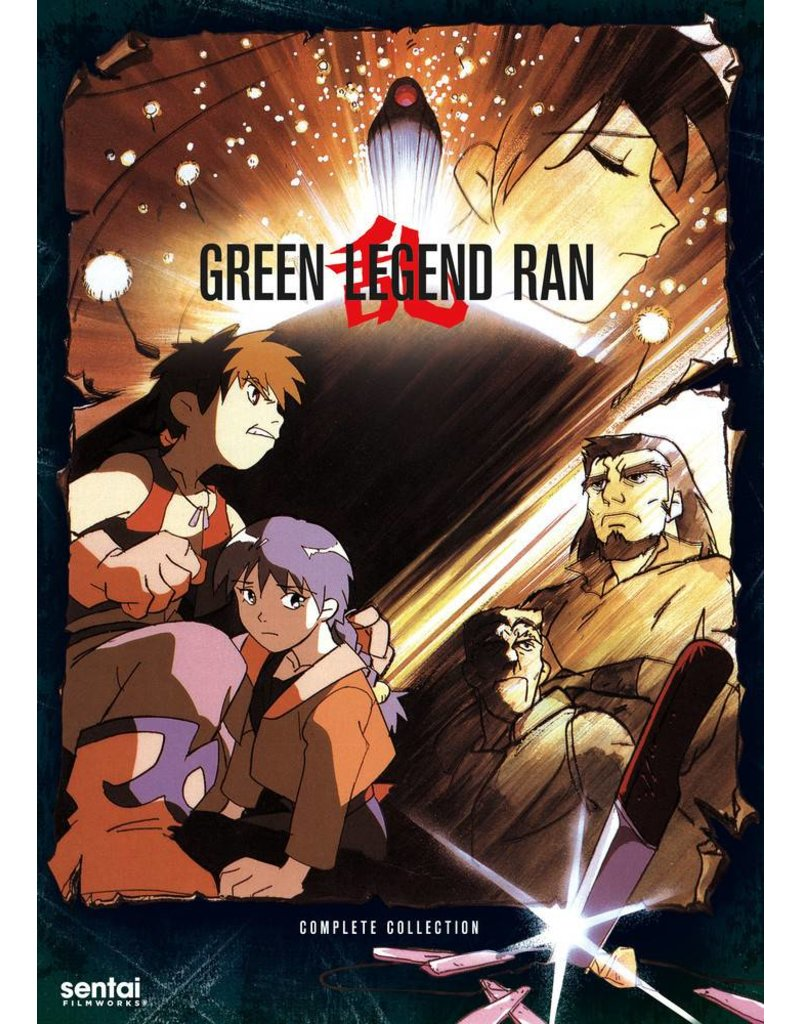 Sentai Filmworks Green Legend Ran DVD